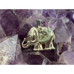 Pendentif Jade Éléphant