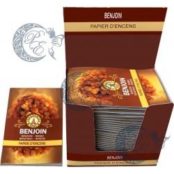 Papier d'encens Benjoin