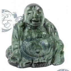 Bouddha sculpté en séraphinite