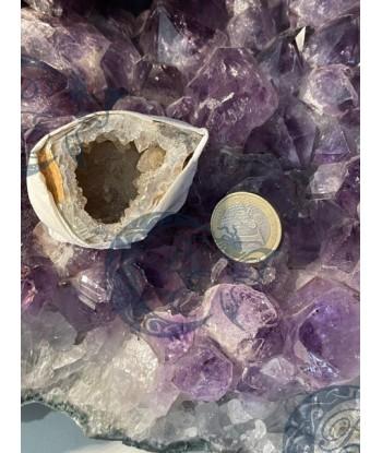Mini Géode agate cristallisé