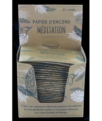 Papier d'encens Méditation