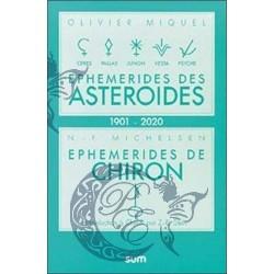 Ephémérides des astéroïdes...