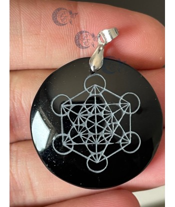 Pendentif cube de Metatron...