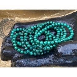 Bracelet Malachite 6 mm