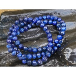 Bracelet Cyanite 8 mm