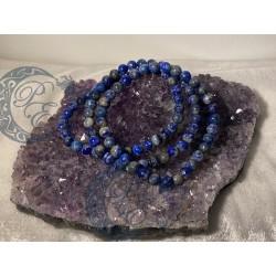 Bracelet Lapis Lazuli 6 mm...